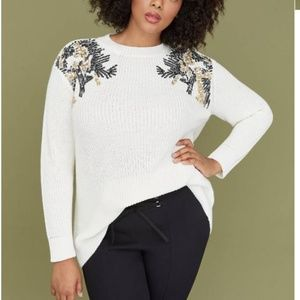 LANE BRYANT SEQUIN SWEATER HOLIDAY NWT 26/…